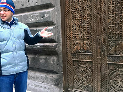 Oldest Door in Yerevan